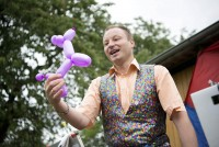 Zaubershow auf einem Kindergeburtstag in Speckswinkel